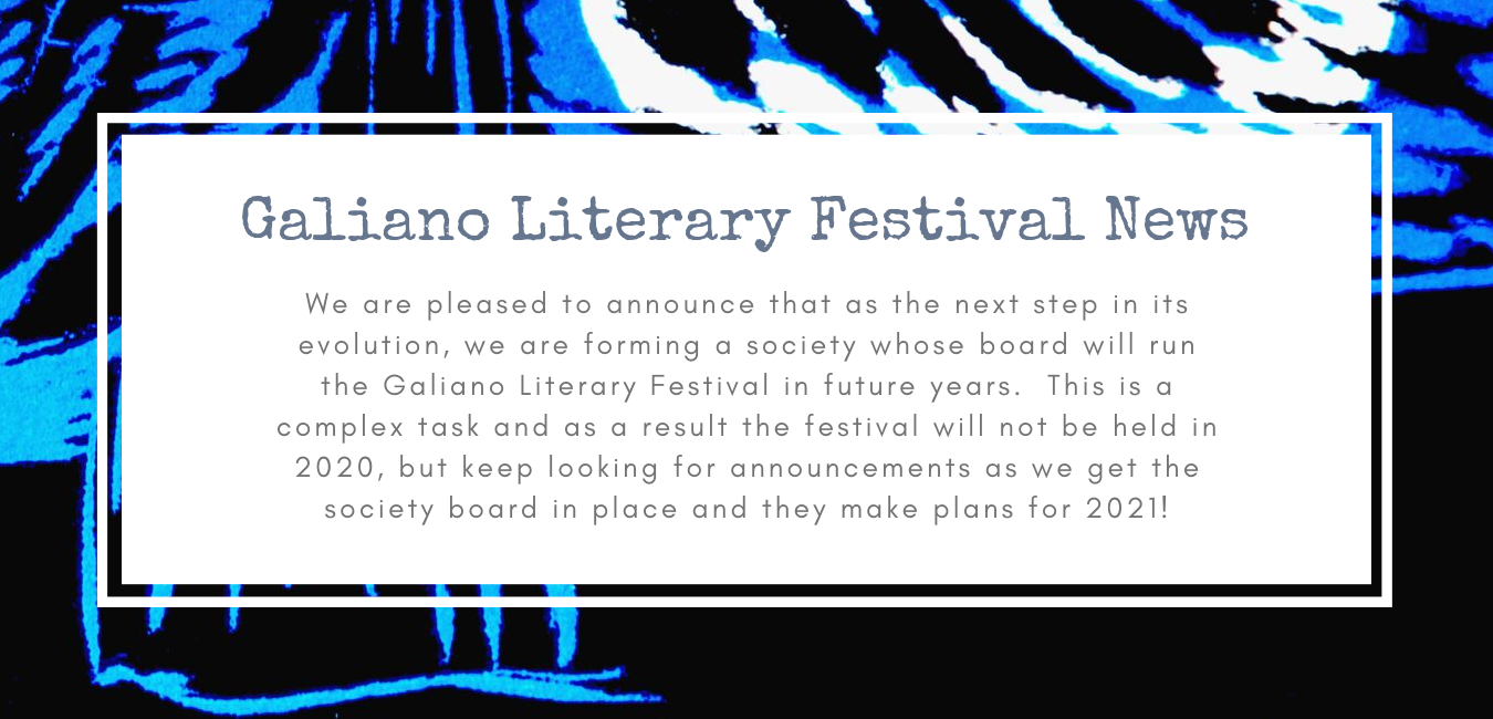 Galiano Literary Festival News